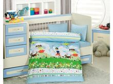 Комплект постельного белья для новорожденных ALTINBASAK, TINI MINI