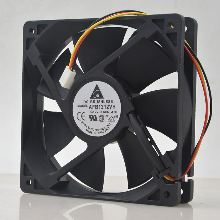 for Delta AFB1212VH-BL3V AFB1212VH 12025 12V 0.60A 3lines Dedicated 120mm Fan for 120*120*25mm 2