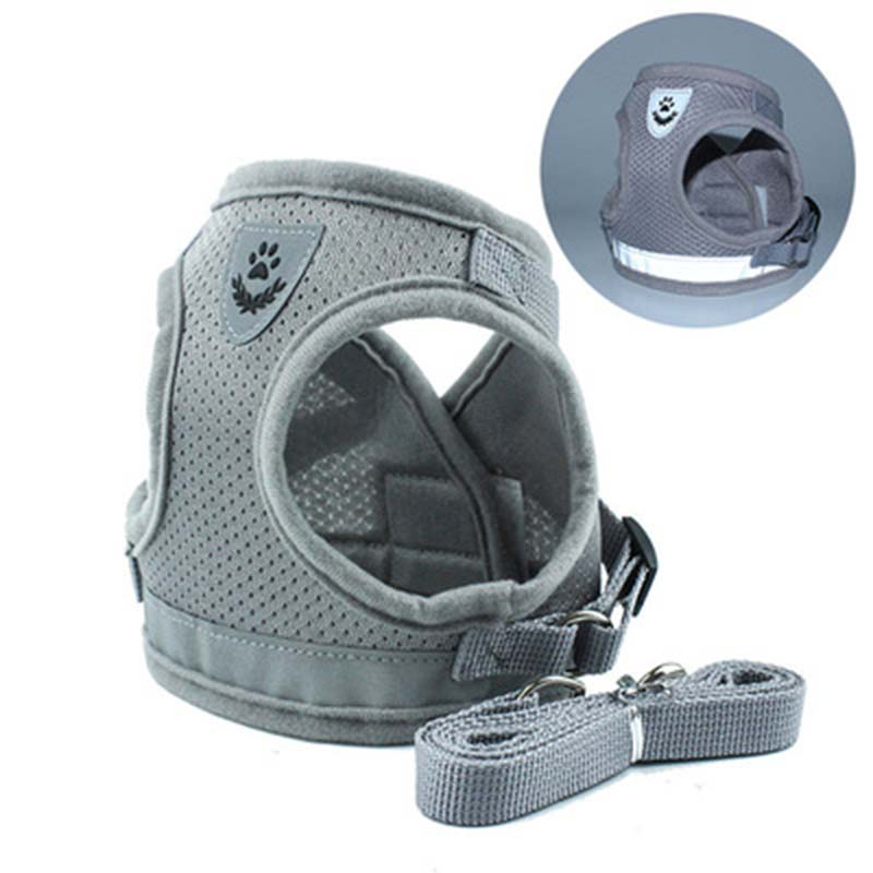 PACGOTH Adjustable Chest Pet Chest Vest Dog Harnesses Pet Collars Pet Chest Back Traction Belt Walking Lead Leash Strap Belt