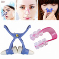 2 Sets Girl Nose Up Shaping Shaper Lifting + Bridge Straightening Women Beauty Nose Clip Face Fitness Facial Clipper Corrector