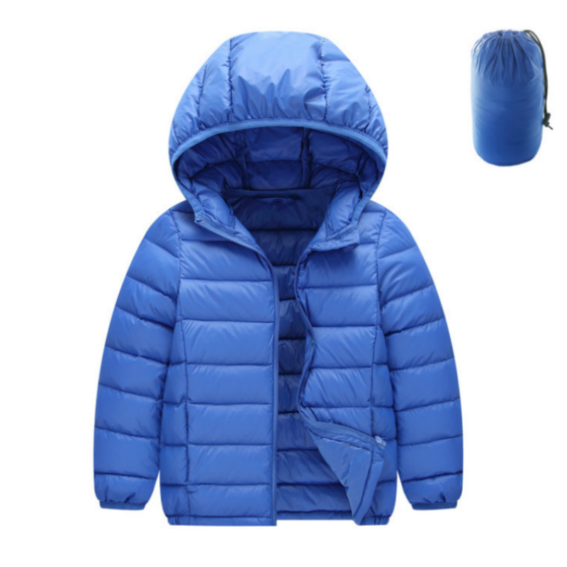 купить Children jacket Outerwear Boy and Girl autumn Warm Down Hooded Coat teenage parka kids winter jacket Size 2 6 8 9 10 12 13 years по цене 1441.55 рублей