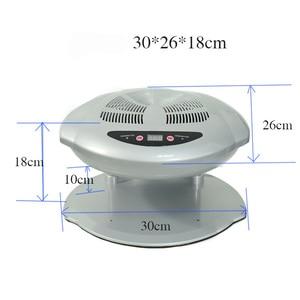 Image 2 - 400W High Power Nail Polish Dryer Nail Fan Manicure Tool Nail Art Equipment Fast Curing Nail Lamp