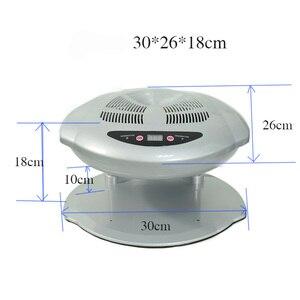 Image 2 - 400W 높은 전원 매니큐어 건조기 네일 팬 매니큐어 도구 네일 아트 장비 빠른 경화 네일 램프