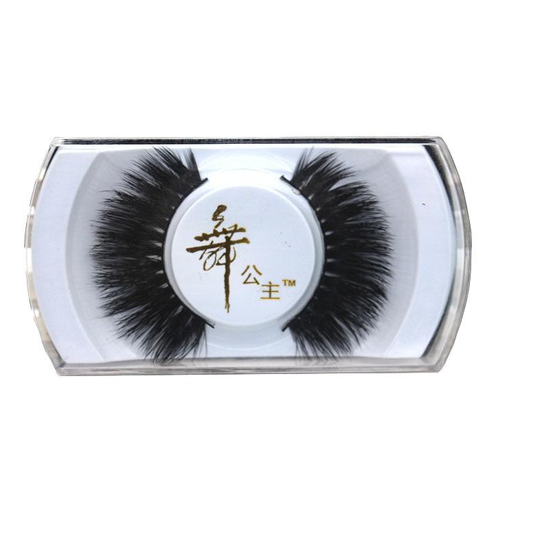 5 Pairs Thick Long Cross Party False Eyelashes Black Band Fake Eye Lashes False Eyelashes Natural Hair Maquiagem 40* Aromatic Flavor Beauty Essentials