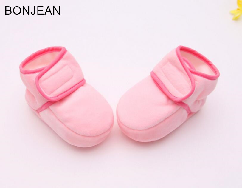 free shipping 2017 baby's winter slippers children's shoes  old non-slip baby boy and girl slippers  7944 2016 winter new soft bottom solid color baby shoes for little boys and girls plus velvet warm baby toddler shoes free shipping