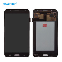 Black For Samsung Galaxy J7 SM J700M LCD Display Touch Screen Digitizer Full Assembly Replacement Parts
