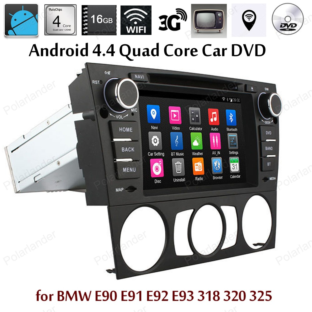 Android4 4 Car DVD Support DTV font b TPMS b font DAB screen mirroring GPS BT