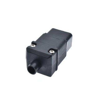 Image 3 - Tomada de pdu ups 16a 250vac iec 320 c19, tomada de iec c19 diy, conector fêmea rewireable do conector iec c19 de iec 320 c19