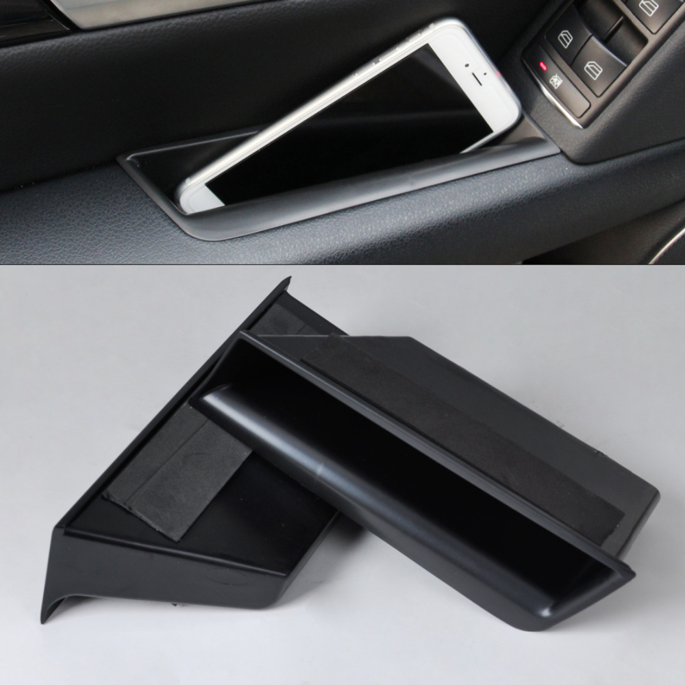 CITALL Front Door Armrest Storage Box Container Phone Holder For Mercedes Benz C Class W204 2008 2009 2010 2011 2012 2013 rambach mercedes benz c 200 cdi w204 blueefficiency 04 2008 11 2009 136 л с