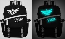 Anime Legend of Zelda SAO Fairy Tail Dark in licht Satchel rucksack-schul Umhängetasche Cosplay Geschenk