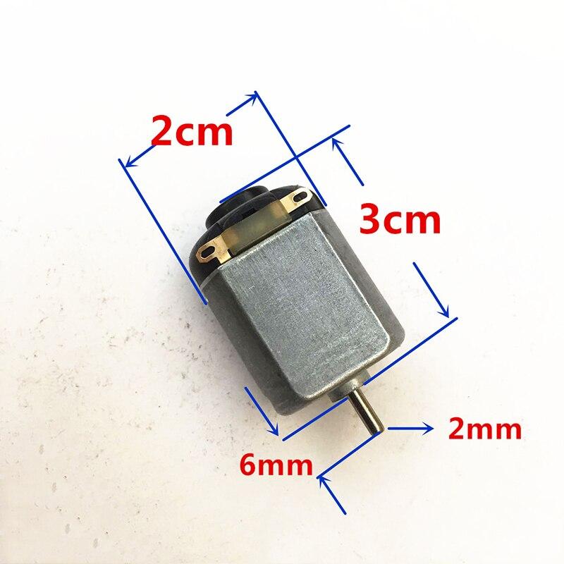 4PCS Mini 130 Motor DC3V 14500RPM High Speed Motor for DIY Racing Car RC 4WD Car