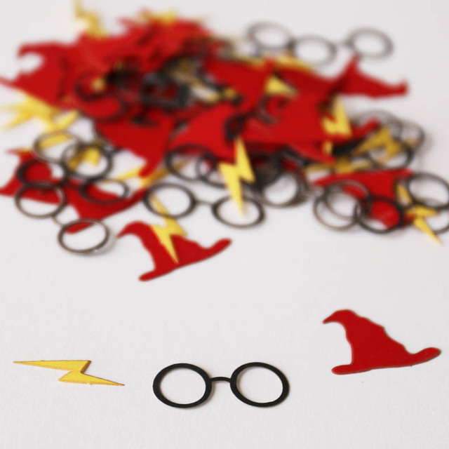 Harry Potter Colorful Confetti