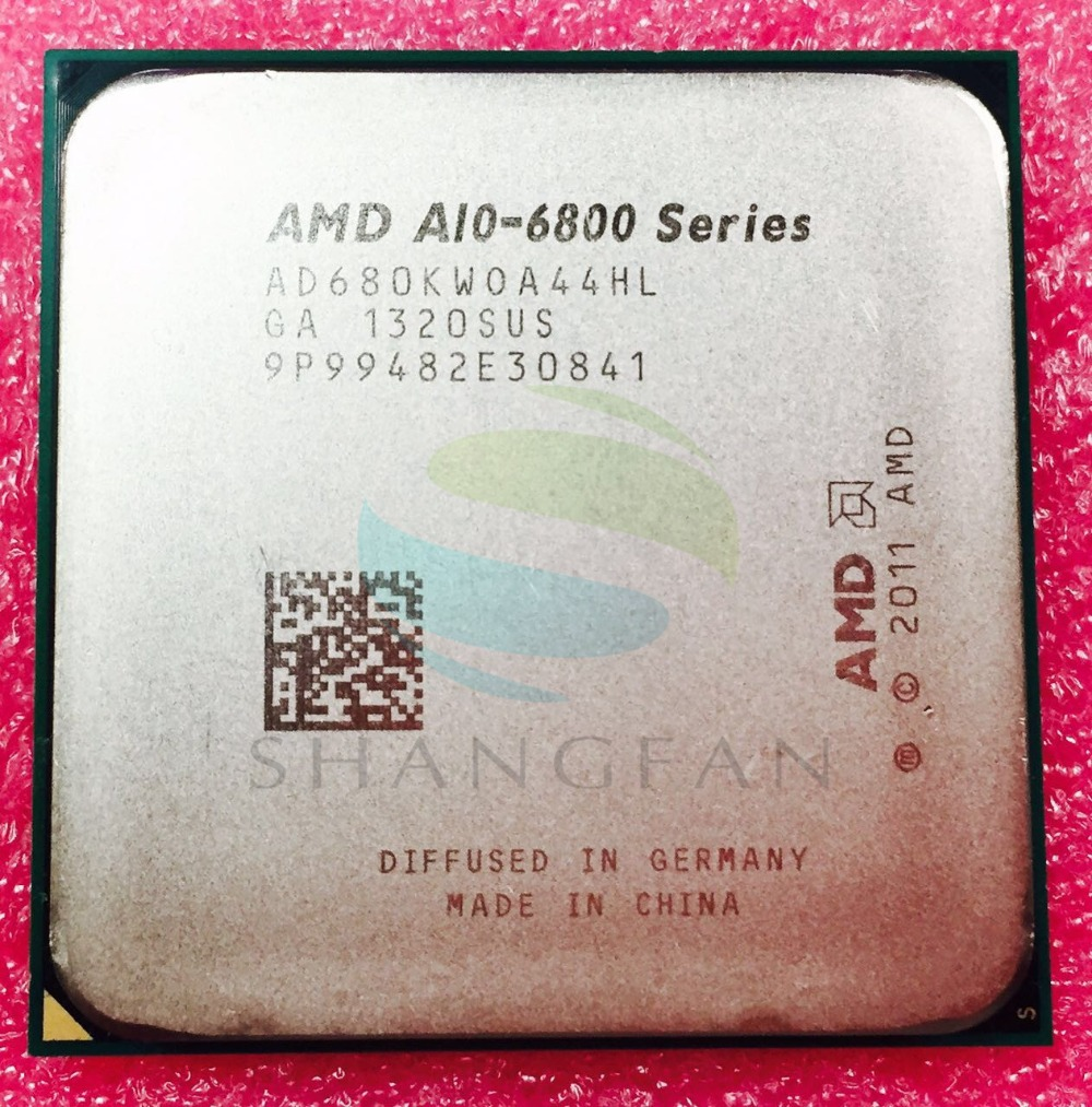 AMD A Series A10 6800 A10 6800K A10 6800 A10 6800K 4.1Ghz 100W Quad Core CPU Processor AD680KWOA44HL Socket FM2