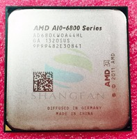 Used Free Shipping For A10 6800 A10 6800K 4 2Ghz 100W Quad Core CPU Processor AD680KWOA44HL