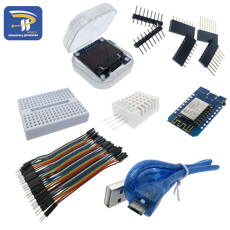 ESP8266 Weather Station DIY Kit IOT Starter Kits for Arduino