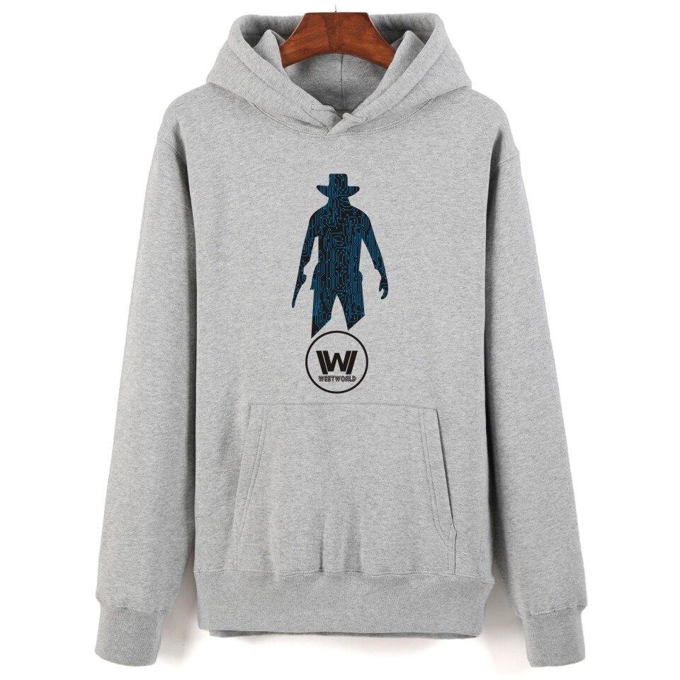 super popular aa62b 4e080 US $29.5 |Cowboy WESTWORLD Hoodie XXS 4XL Black White Grey Navy Fleece  Streetwear WESTWORLD Hoodie Women Men Hoodies Sweatshirts XXL XXXXL-in  Hoodies ...