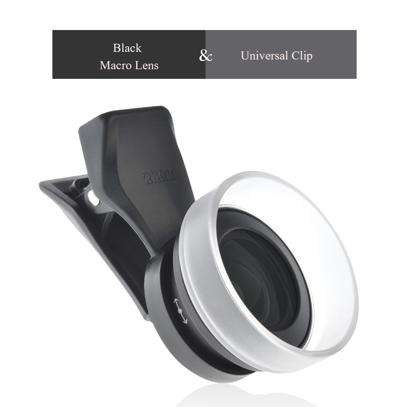 SIRUI Mobile Lens External high definition SLR mirror set universal cellphone lens Macro portrait lens wide angle fisheye lens in Camera Filters from Consumer Electronics