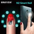 Jackcom N2 Elegante Uñas Simulat Conectar la tarjeta IC Teléfono Flash LED elegante Uñas de Manicura Nuevo Gadget Inteligente Usable N2M N2F N2L Inteligente