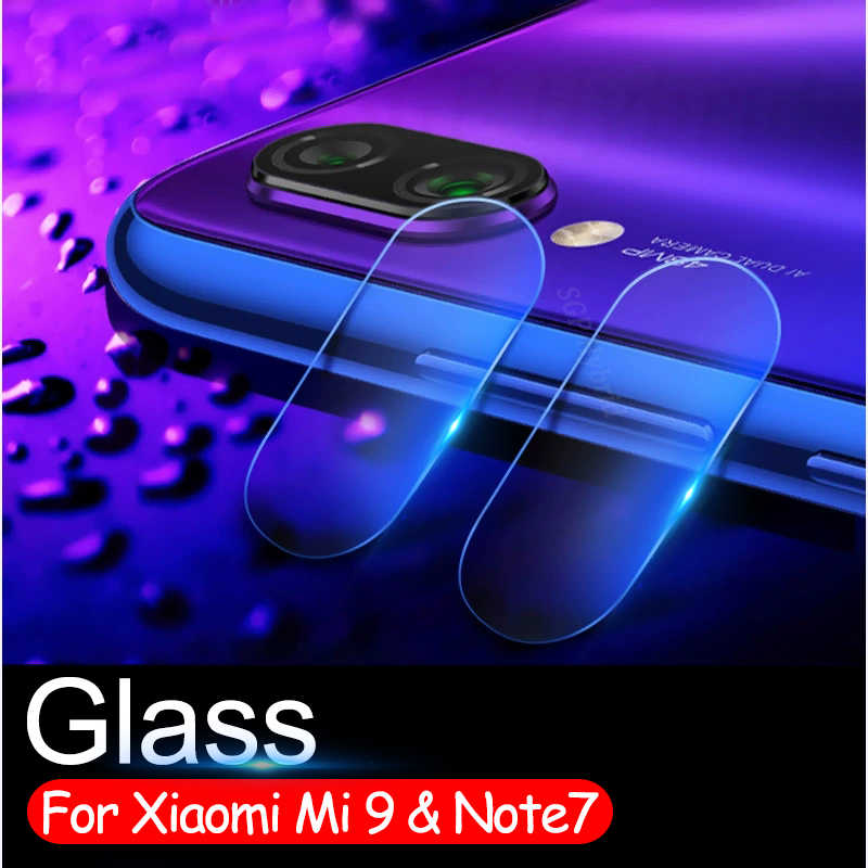 Note7 Tấm Kính Bảo Vệ Màn Hình Trong cho Xiao Mi Đỏ MI Note6 Note 7 6 6pro Mi 9 Mi 9 a2 Lite Pro Camera Len Nắp Kính Cường Lực