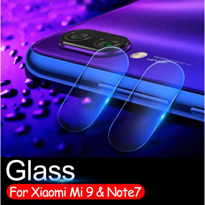 Note7 スクリーンプロテクターガラスシャオ mi 赤 mi Note6 注 7 6 6pro mi 9 mi 9 a2 lite プロカメラレンカバー強化ガラス