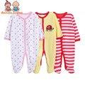 Roupa das crianças/Bebê Menina ou Menino roupas Impressão Bebê Recém-nascido Doces Colorem aHY0005 Bodysuits Frete Grátis