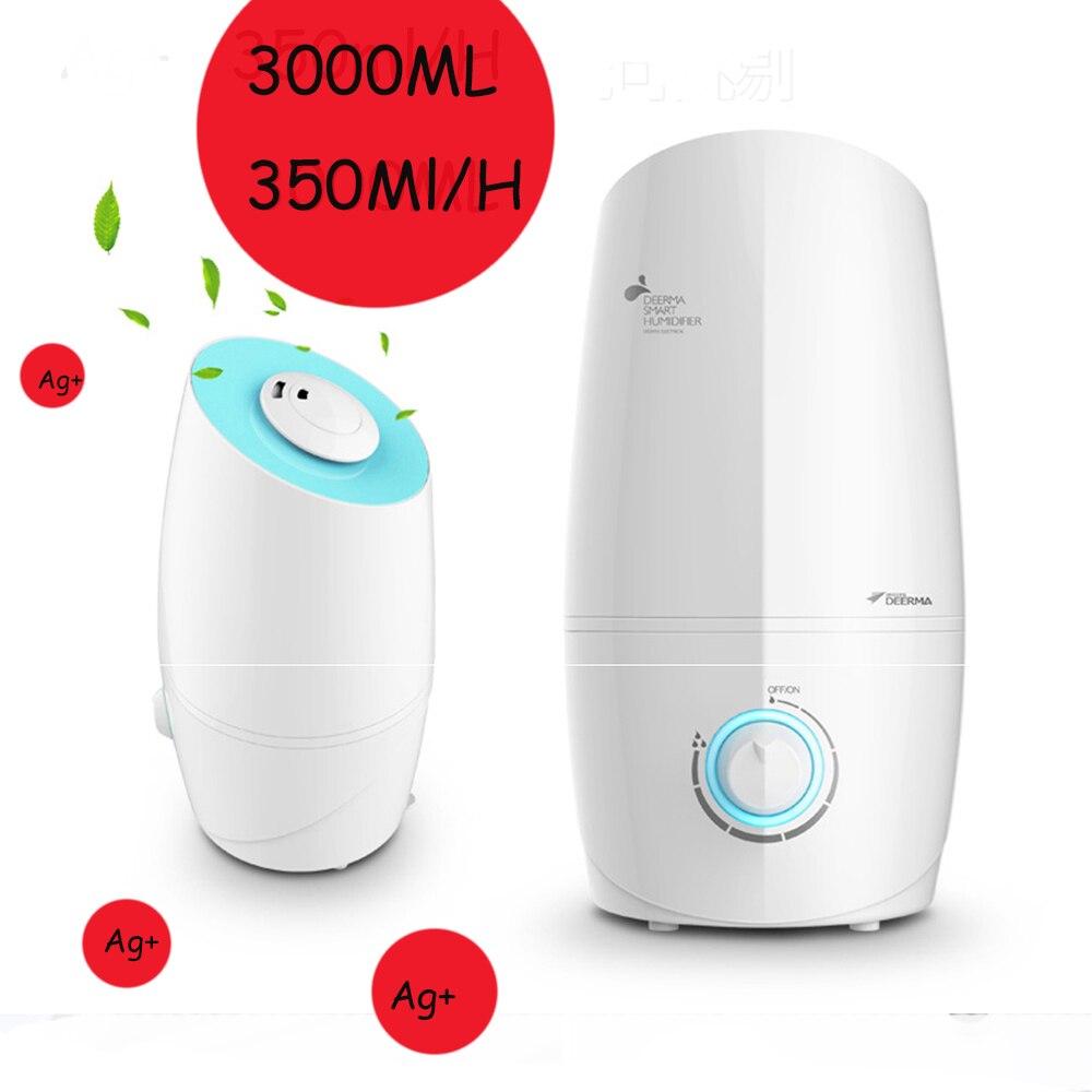ФОТО 3L 350ML/H Difusor De Aroma Ultrasonic Air Humidifier Aroma Oil Diffuser Ionizer Generator Aromatherapy Mist Maker 220V