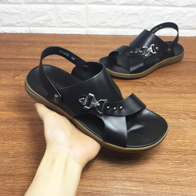 Casual hommes sandales pantoufles chaussures d'... 3YxY5w