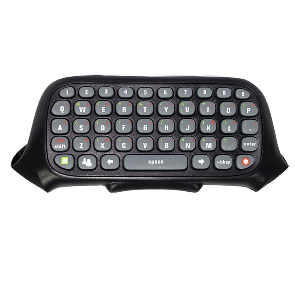 47 keys Wireless Text Messenger Game Keyboard Controller Chatpad Chat Pad for XBOX360 wired controller wireless controller
