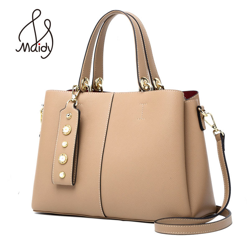 Luxury Real Cowhide Cow Leather Casual Tote Ladies Designer Handbags Clutch Women Bags Crossbody Messenger Bag Shoulder Maidy laorentou cowhide leather shoulder bag ladies leather luxury handbags women bags designer ladies shoulder bag casual tote