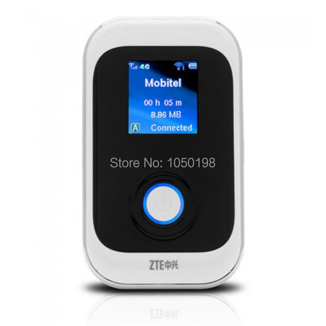 Ontgrendeld ZTE MF91 D POCKET WIFI ROUTER 4G LTE 42MBPS SNELHEID