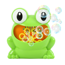 New Crab Frog Bubble Machine Bathroom Bubble Maker Bath Toy Toddler Toy Newborn Gift Water Toys Educational Toys for Children beiens water baby floating toy bath toys for children bathroom toy new year gift