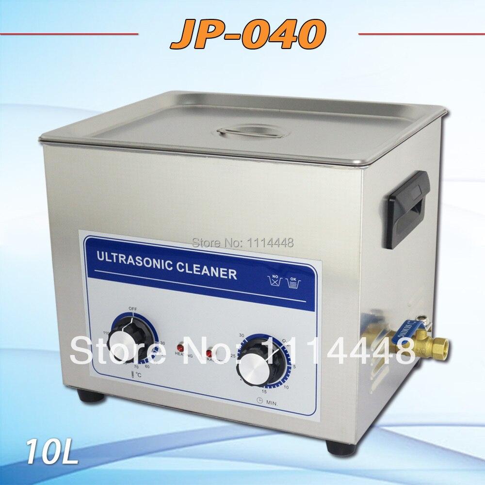 Новая ультразвуковая Чистящая машина JP 040 монтажная плата детали 10L 240 Вт ультразвуковой очиститель