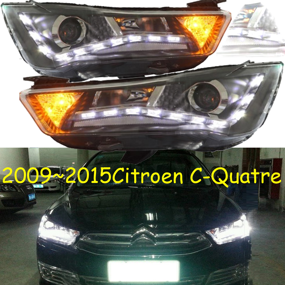 HID,2009~2015,Car Styling,Citroe C-Quatre Headlight,Elysee,xsara,c4 picasso,c5,zx,c-quatre,c-triomphe;C-Quatre head lamp braun carestyle 5 is 5043