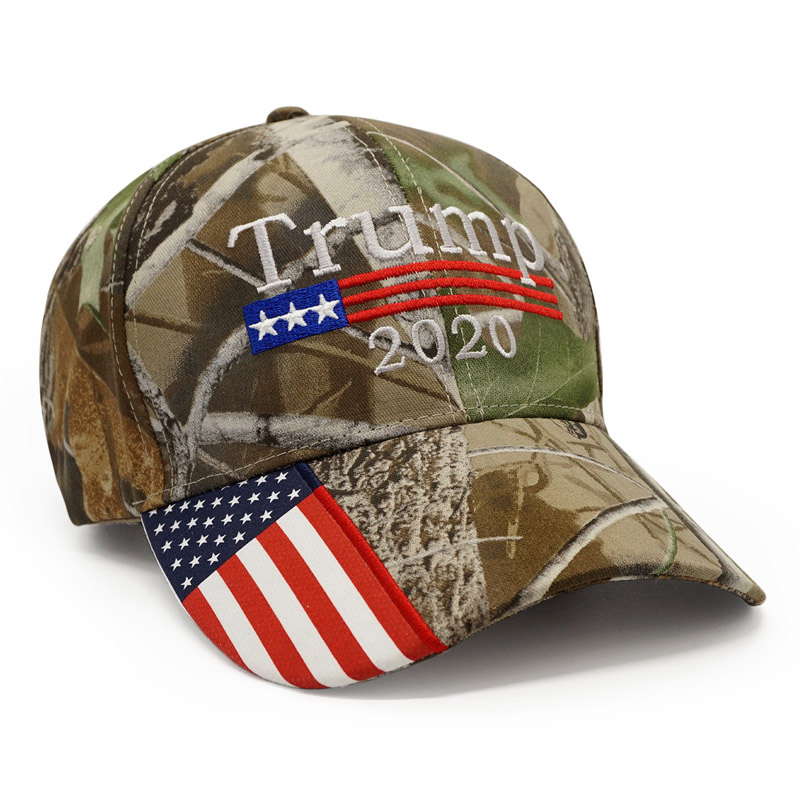 59d6477672e Details about New President Donald Trump 2020 Cap Camouflage USA Flag Baseball  Caps Army Hat