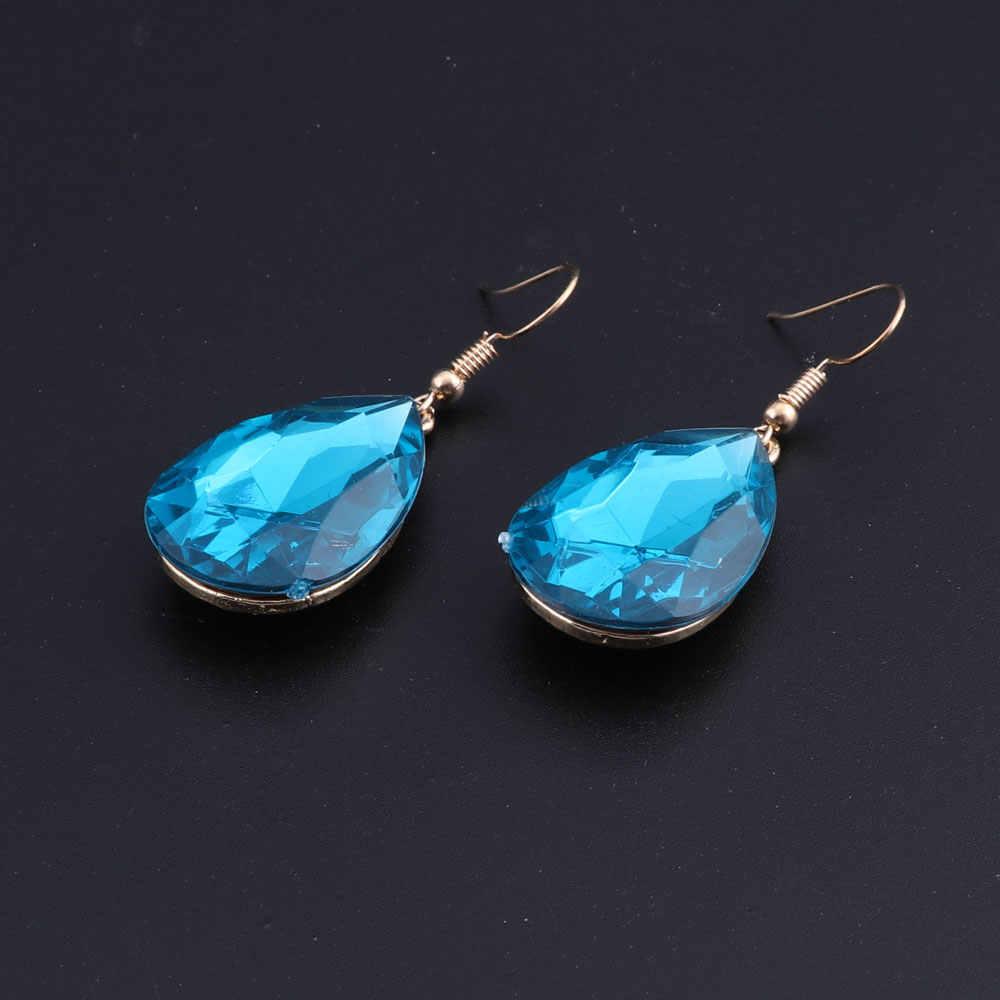 2018 Новые африканские свадебные комплекты ювелирных изделий синее ожерелье в виде лебедя из страз серьги для женщин свадебные комплекты ювелирных изделий