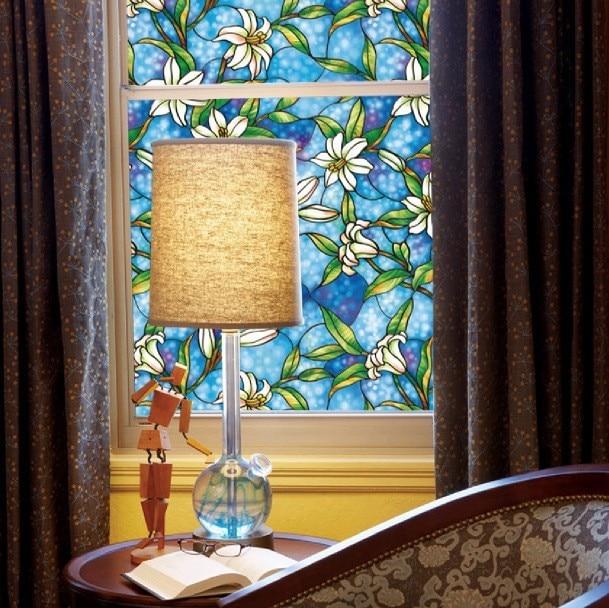 Window Film Treatments In Pattern Fl Color Clear Ebay
