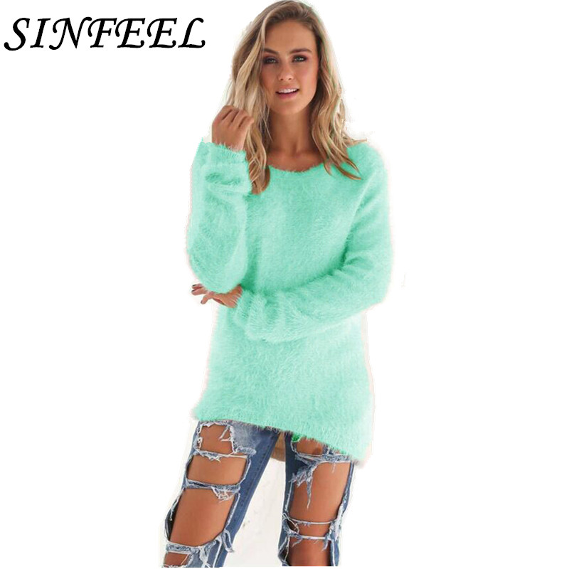 Detail Feedback Questions about SINFEEL 3XL Autumn Women Sweater Korean  Loose Pullovers Knitted Casual Winter Sweater sueter mujer Plus Size  Wholesale Drop ... 61b932139704