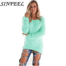 SINFEEL 3XL Autumn Women Sweater Korean Loose Pullovers Knitted Casual Winter sueter mujer Plus Size Wholesale Drop Ship
