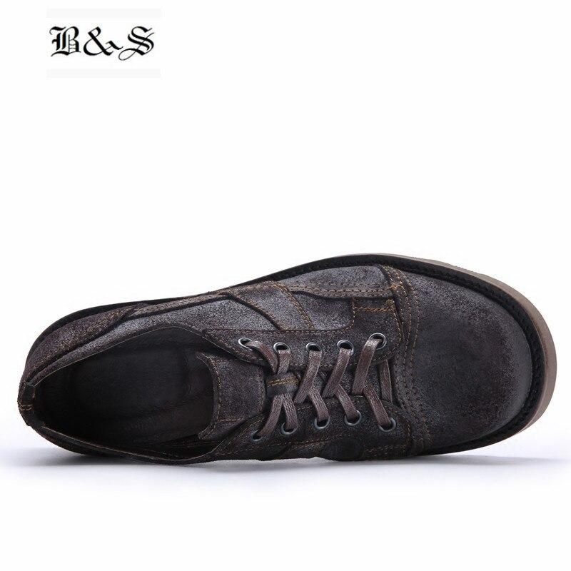 Туфли на плоской подошве с заклепками, женская обувь, белая кожаная женская обувь на рифленой подошве, весенне осенняя Новая повседневная о... - 4