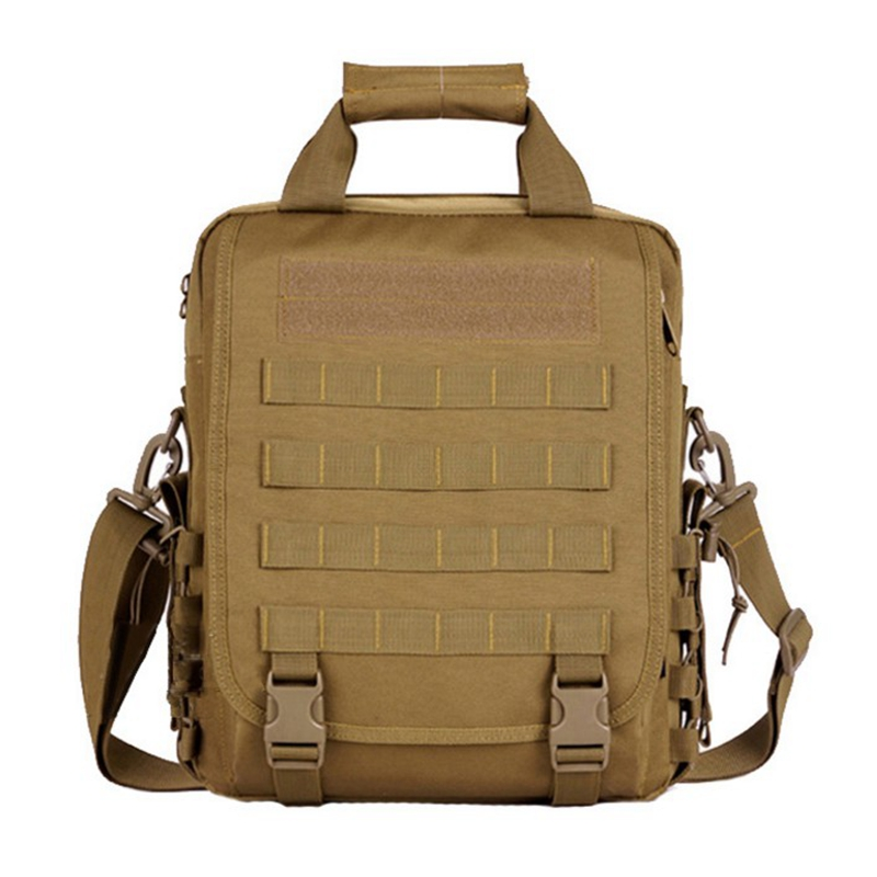 Military Tactical Laptop Notebook Shoulder Bag Outdoor Molle Durable Multifunction Backpack Black Color outlife new style professional military tactical multifunction shovel outdoor camping survival folding spade tool equipment