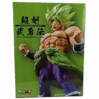 23cm Dragon Ball Z Styling BROLY SS FULL POWER CANDY PVC Action Figure Model Toys Gift