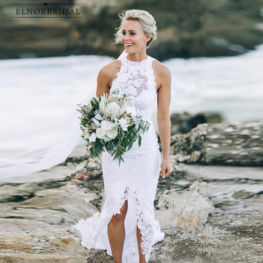 Sexy Beach Mermaid Lace Wedding Dresses 2019 Vestidos De