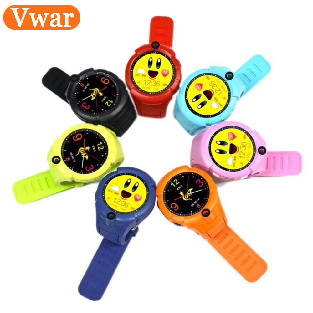 Vwar Vm50 Q360 Smart Baby GPS Watch with Camera Child smartwatch SOS Anti-Lost Monitor Tracker Watches Phone for kids PK Q750