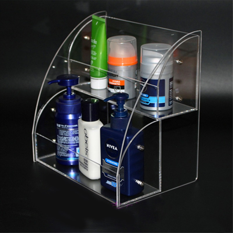 Acrylic Cosmetics Organizer Storage Case Holder Display For Brushes, Perfumes, Skincare Products, Nail Polish,Jewelry Sunglasses dental acrylic organizer holder case for orthodontic preformed wire