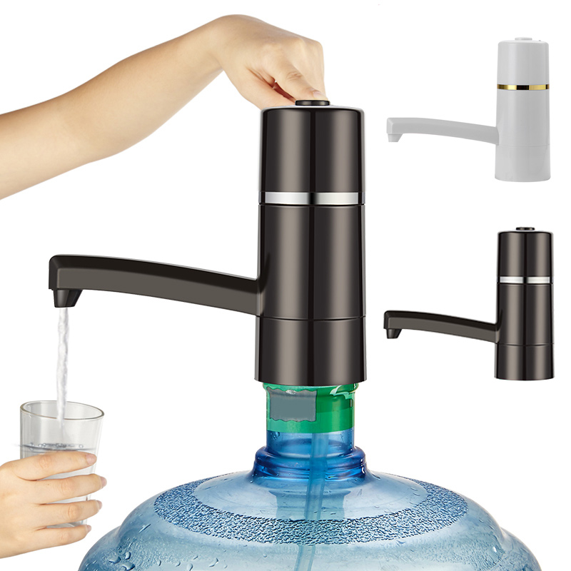 Electric <font><b>Water</b></font> Dispenser with Rechargeable <font><b>Battery</b></font> Drinking <font><b>Water</b></font> <font><b>Bottles</b></font> Kitchen Items USB Easy <font><b>Pump</b></font> <font><b>Water</b></font> to the <font><b>Bottle</b></font> J2Y