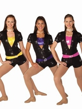 The new original single female jazz hip-hop performances Suit shorts handsome costumes dance clothes