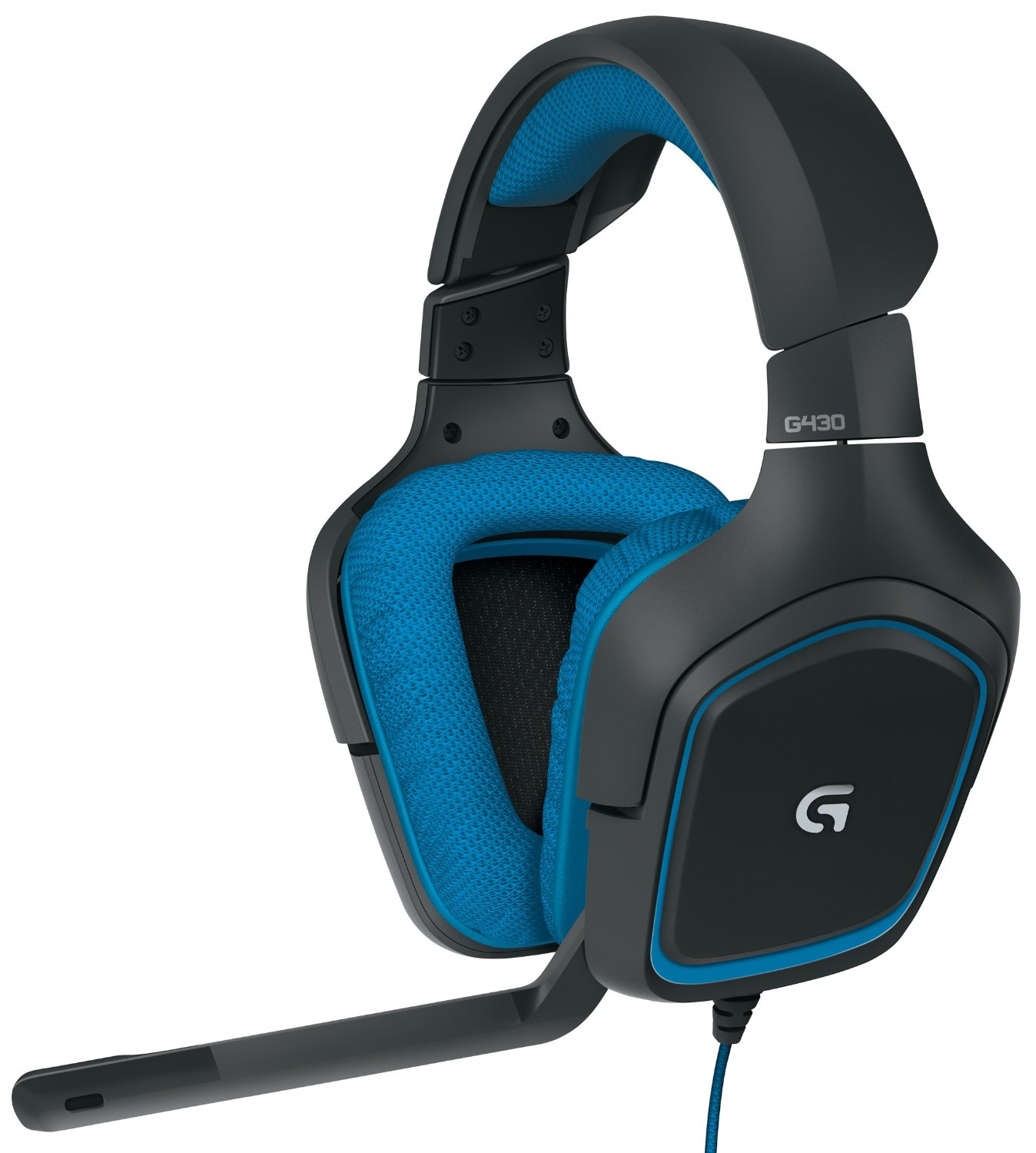 Logitech G430 Surround Sound Gaming Headset with Dolby 7.1 Technology колонки definitive technology sound cylinder
