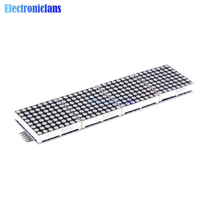 New HT1632C Led Screen Lattice-Breakout LED Screen Modules 8X32 Red Dot-matrix Module No MCU