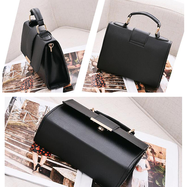 REPRCLA 2019 Summer Fashion Women Bag Leather Handbags PU Shoulder Bag Small Flap Crossbody Bags for Women Messenger Bags 5