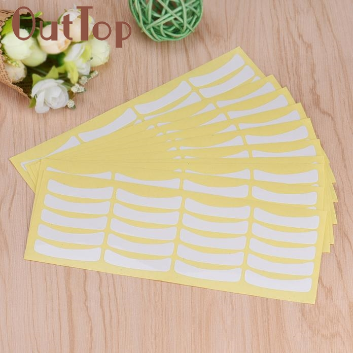 100 Pairs Under Eye Pads Stickers Patches For Eyelash Extensions Makeup Tool Levet Dropship mar17